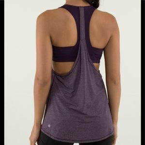 Lululemon 2 in run tank